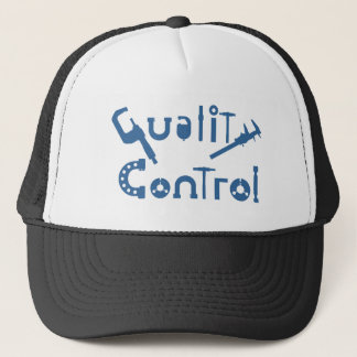 Quality Control Trucker Hat