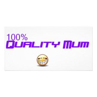 quality mum photo cards