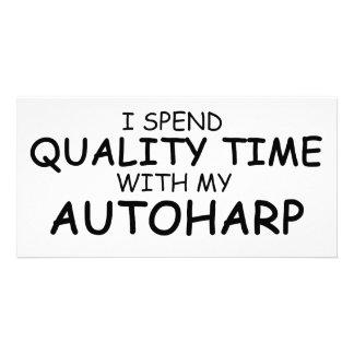 Quality Time Autoharp Photo Card