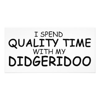 Quality Time Didgeridoo Picture Card