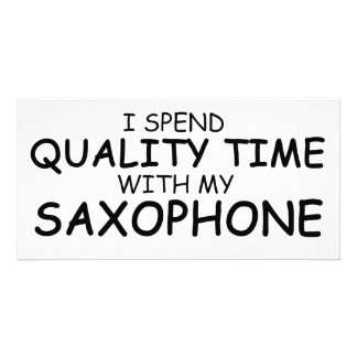 Quality Time Saxophone Photo Cards