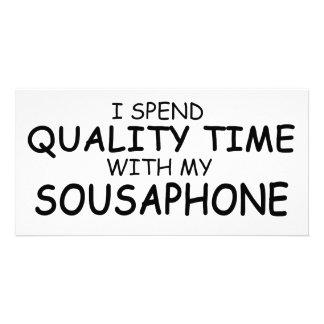 Quality Time Sousaphone Photo Card