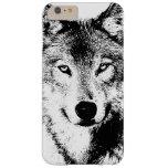 Quality Unique Wolf Artwork iPhone 6 Plus Case