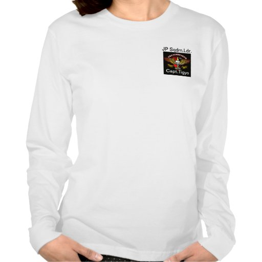 Quality womans longT with name,rank,unit SBS logo Tees