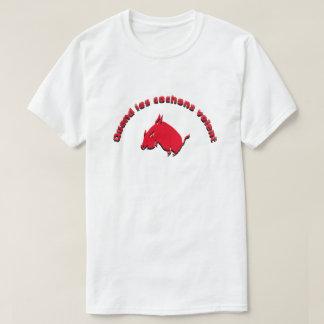 Quand les cochons volent - When pigs fly T-Shirt