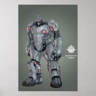 "Quantum Ares ""The Beast of Burden"" Poster"