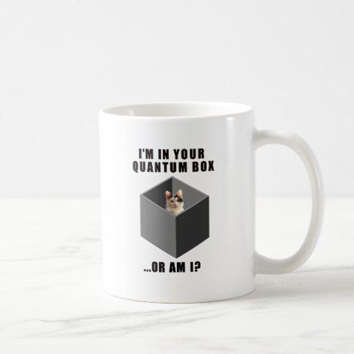 Quantum Cat Coffee Mug