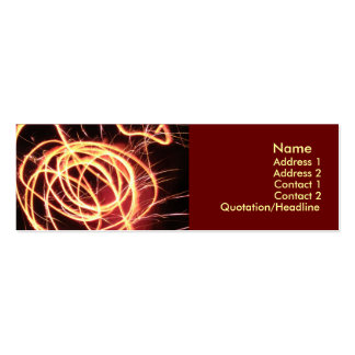 Quantum Pack Of Skinny Business Cards