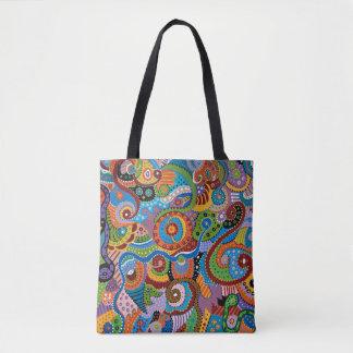 Quantum Strands Tote Bag