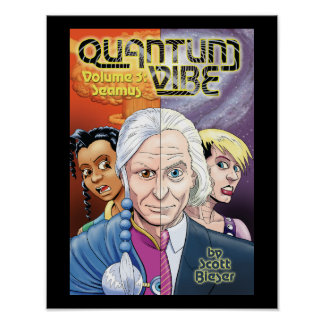 Quantum Vibe, Volume 3: Seamus Poster