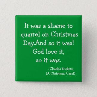 Quarrel-The Scrooge Collection 15 Cm Square Badge