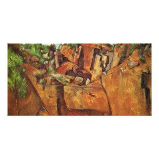 Quarry Bibémus By Paul Cézanne (Best Quality) Photo Cards