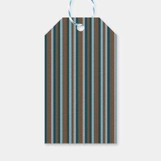 Quarry Teal Mod Alternating Stripes