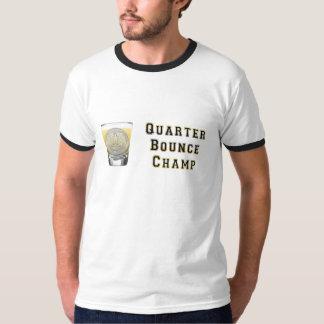 Quarter Bounce BlackGold Tees