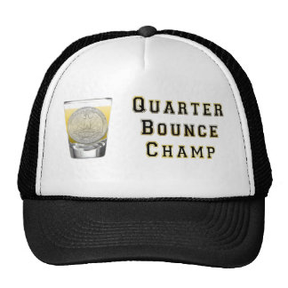 Quarter Bounce BlackGold Trucker Hats