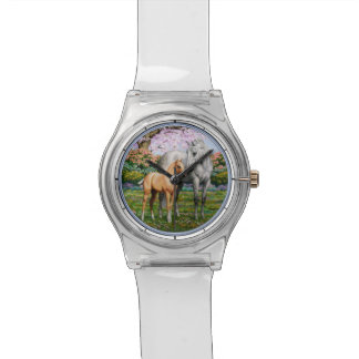 Quarter Horse Mare & Foal Wristwatches