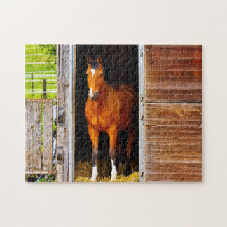 Quarter House In Stable Jigsaw Puzzle