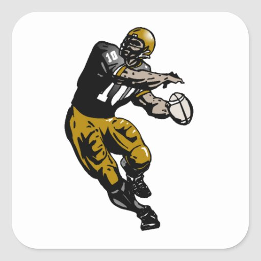 Quarterback Stickers