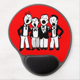 Quartet Gel Mousepads