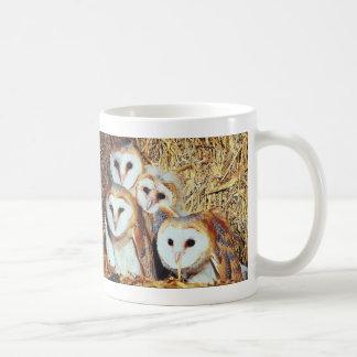 Quartet of Barn Owls Mug