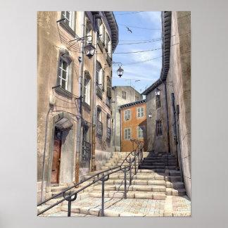 Quartier du Panierà Marseille Poster