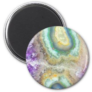 Quartz Candy Crystals Magnet