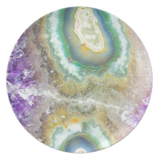 Quartz Candy Crystals Plate