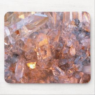 Quartz crystal mousepad