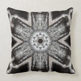 Quartz Crystal Throw Pillow