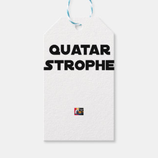 QUATAR STANZA - Word games - François City Gift Tags