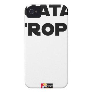 QUATAR STANZA - Word games - François City iPhone 4 Case-Mate Case
