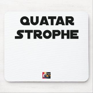 QUATAR STANZA - Word games - François City Mouse Pad