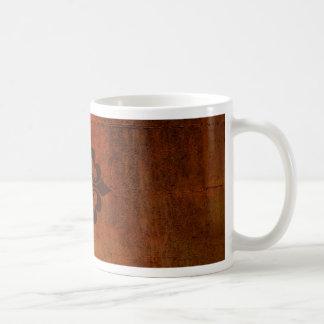 Quatre Fleur de Lis Coffee Mug