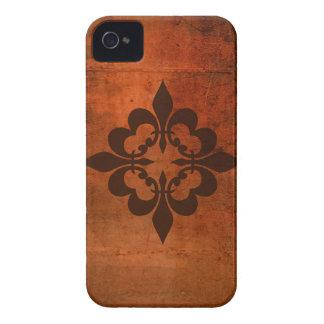 Quatre Fleur de Lis iPhone 4 Cases
