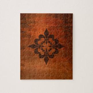 Quatre Fleur de Lis Jigsaw Puzzle