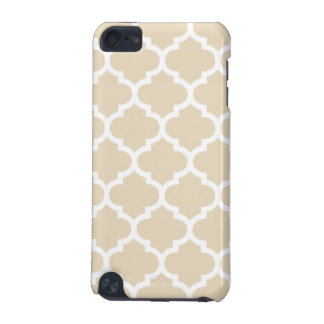 Quatrefoil Ivory iPod Touch (5th Generation) Cases