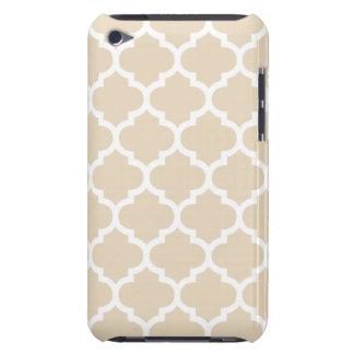 Quatrefoil Ivory iPod Touch Case-Mate Case