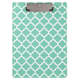Quatrefoil Lattice Trellis Pattern Any Color Clipboard