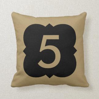 Quatrefoil: Number 5 Cushion