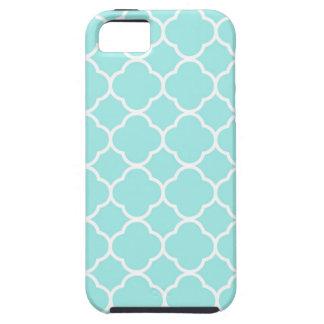 Quatrefoil Pattern Design Tough iPhone 5 Case