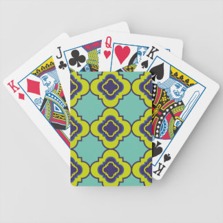 Quatrefoil pattern II Bicycle Playing Cards
