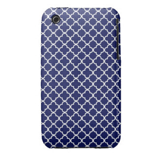 Quatrefoil Pattern iPhone 3 Cover