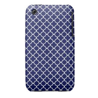Quatrefoil Pattern iPhone 3 Cover