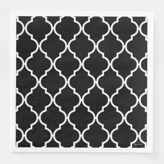 Quatrefoil Pattern Napkins Paper Napkins