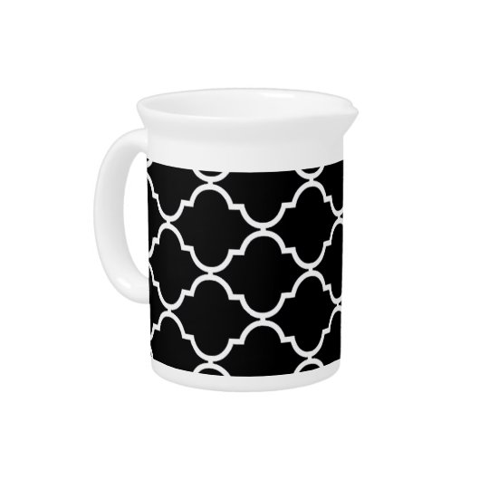 Quatrefoil Pattern Pitcher