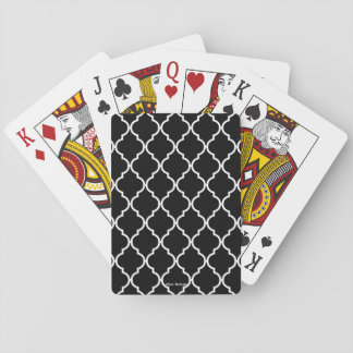Quatrefoil Pattern Playing Cards