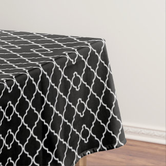 Quatrefoil Pattern Table Cloth