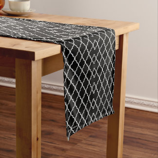 Quatrefoil Pattern Table Runner