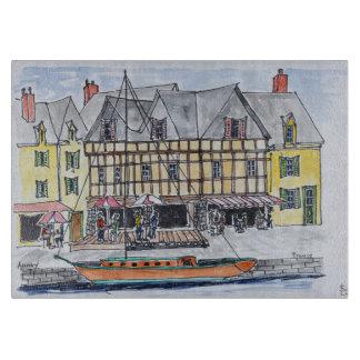 Quay Franklin, Saint-Goustan | Auray, Brittany Cutting Board