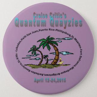 Quayzie Button Pin